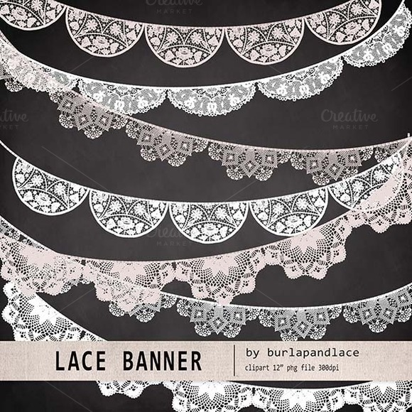 Lace Banner