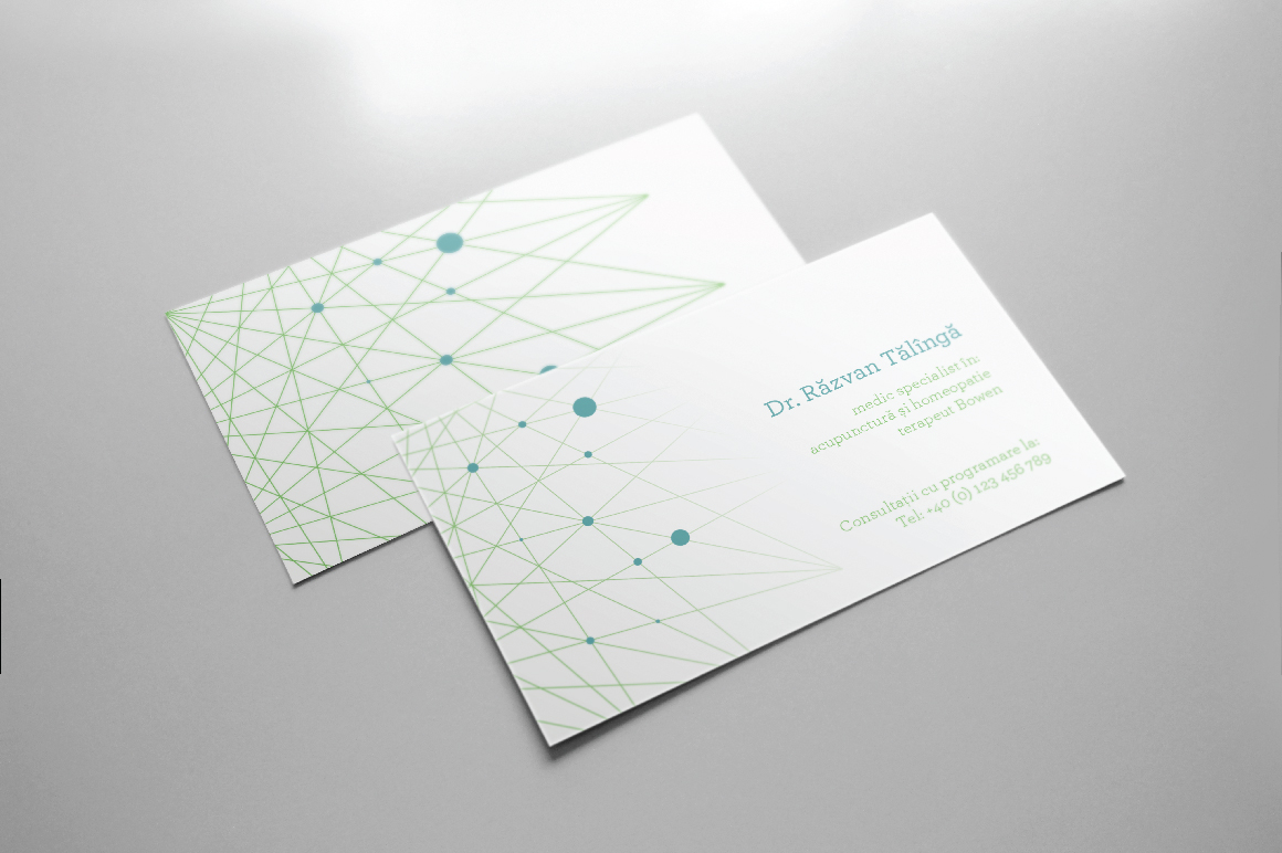 points a clean modern european design excellent for the concierge medical practice stem cell medical provider personalized medicine and more - Medical Business Cards