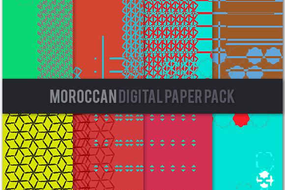 Moroccan Digital Paper Pack