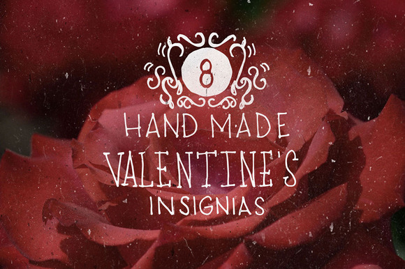 8 Handmade Valentine S Insignias