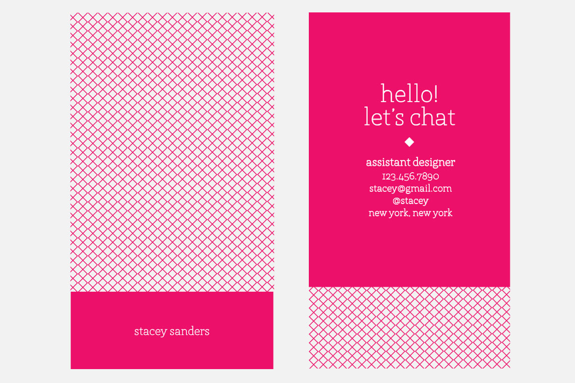 Pink card gidiyedformapolitica pink card pink business card business card templates fbccfo Image collections