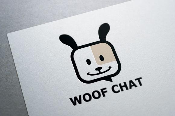 Woof Chat Logo