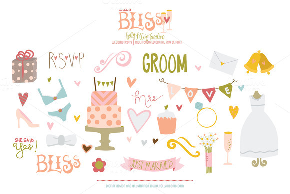 Wedded Bliss PNG Clipart