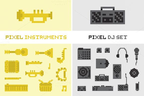 Pixel Music Set