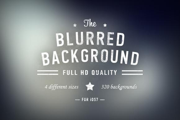 IOs7 Blurred Backgrounds HD