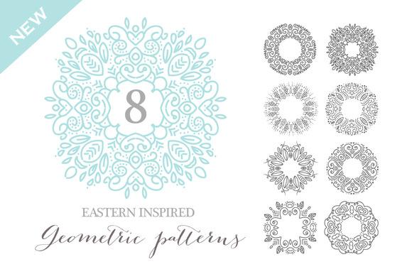 Eastern Inspired Geometric Art Vol1