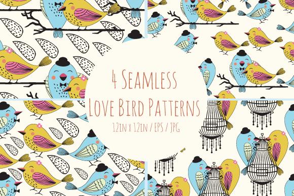 Seamless Bird Patterns
