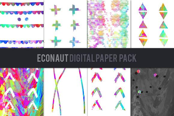 Econaut Digital Paper Pack