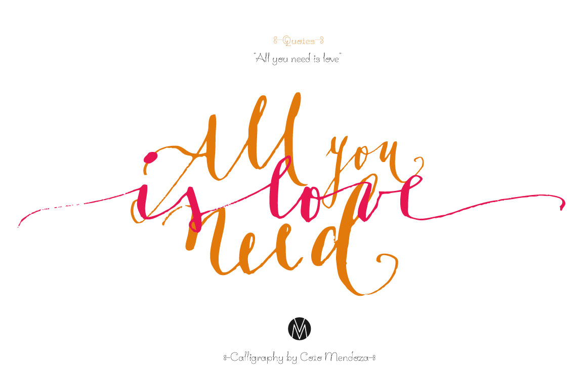 Calligraphy quotes ~ Illustrations on Creative Market