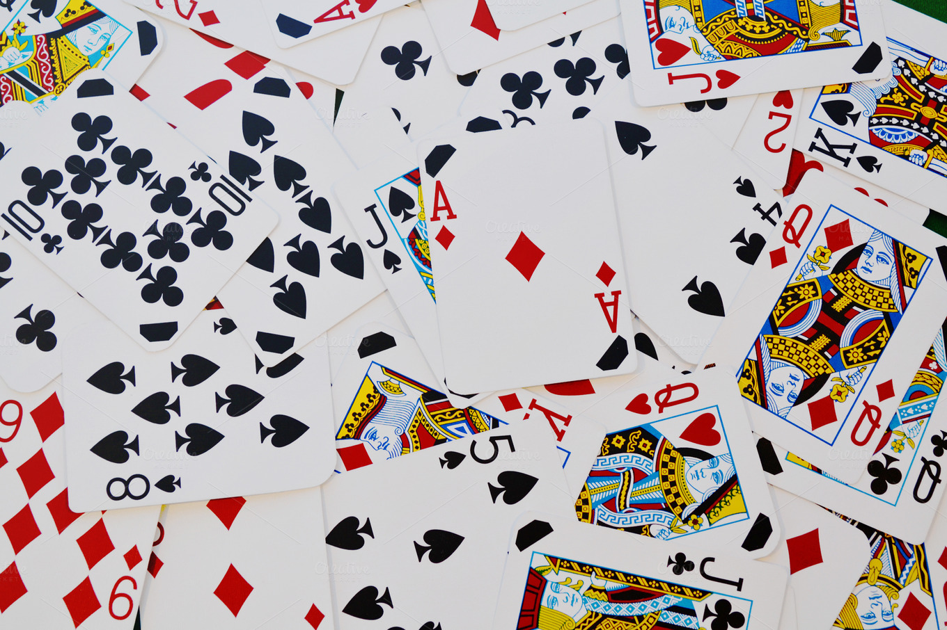 Playing Cards ~ Arts & Entertainment Photos on Creative Market