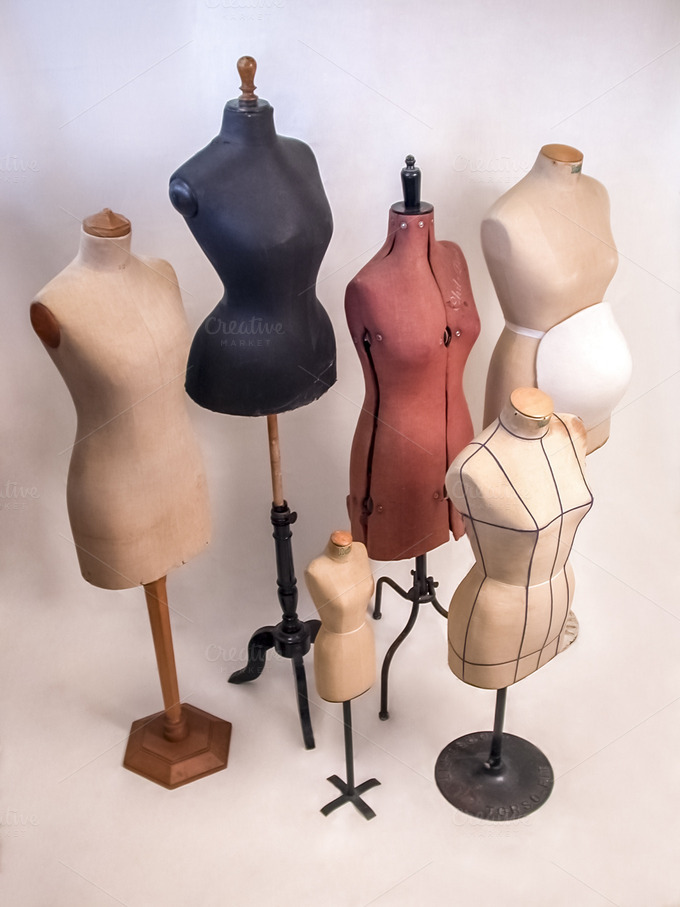 vintage tailor dummy mannequins beauty amp fashion photos
