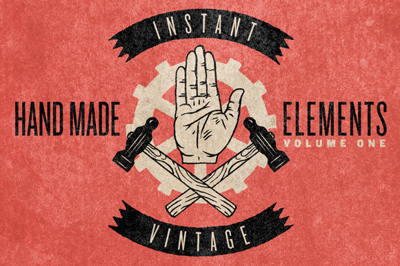 HAND MADE ELEMENTS VOL. 1 - Objects