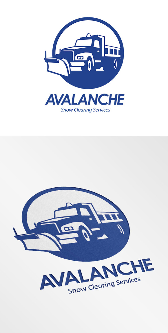 Avalanche Snow Removal Services Logo