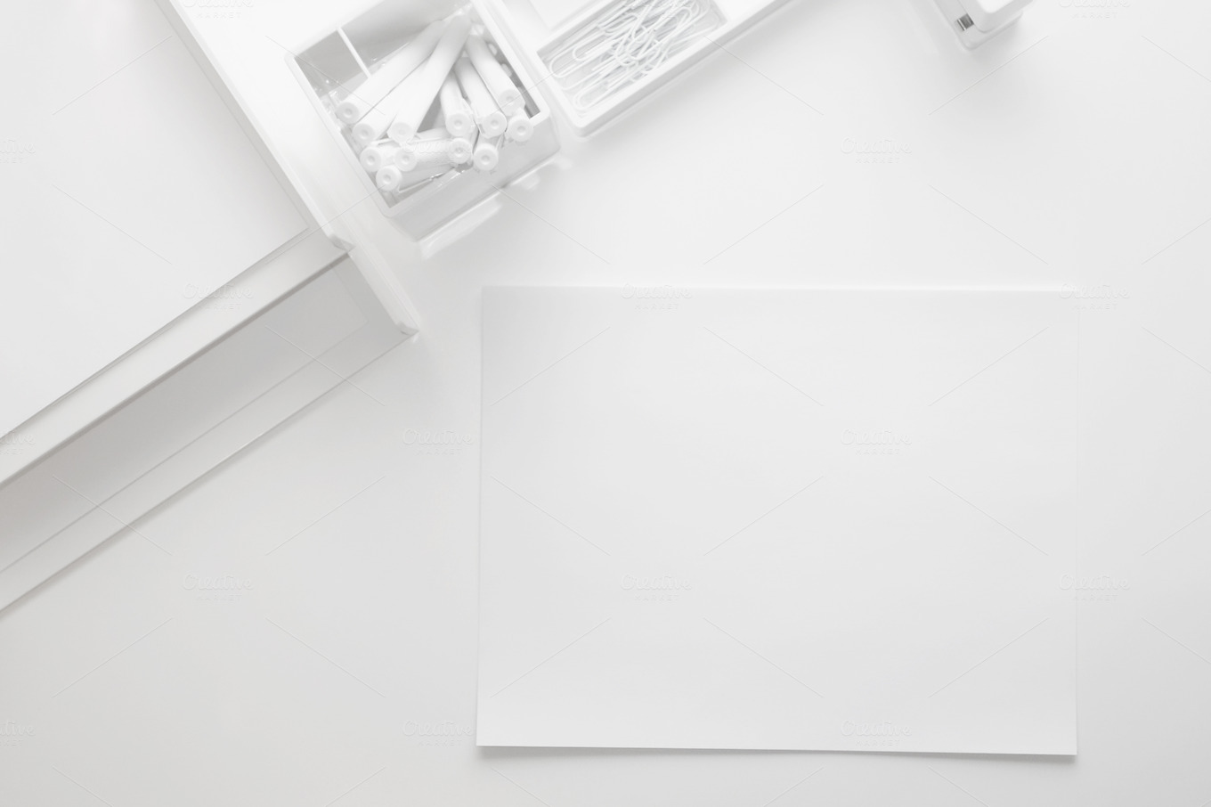 Clean And Modern Desk Business Photos On Creative Market