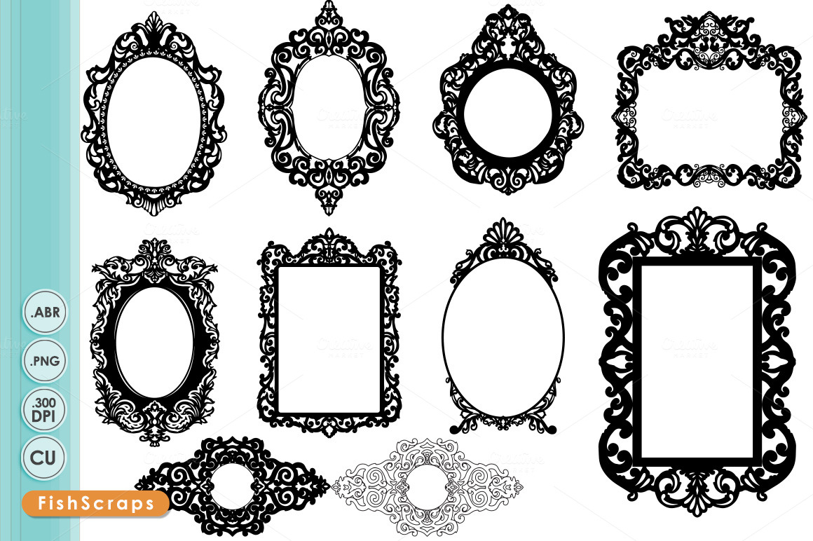 free clipart ornate frames - photo #45