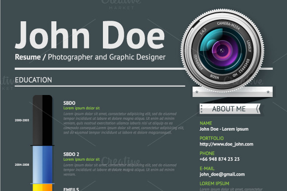 creative resumes for photographers resumes free online resume
