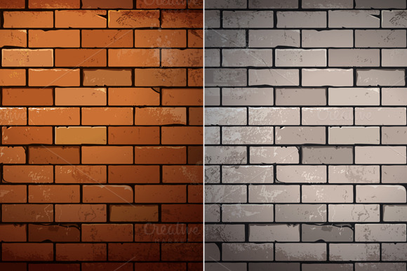 Brick Vector Picture Brick Veneers: Textures On Creative Market