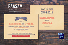 Paasam Wedding Invitation Template