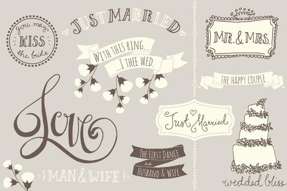 Wedding Overlays / Photoshop Brushes ~ Graphics on Creative Market