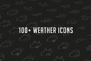 Weather Glyph Set-Graphicriver中文最全的素材分享平台