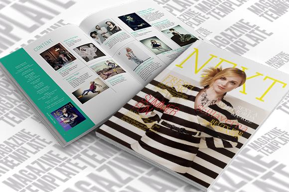 InDesign Magazine Template - Magazines - 1