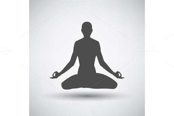 Lotus Pose Icon