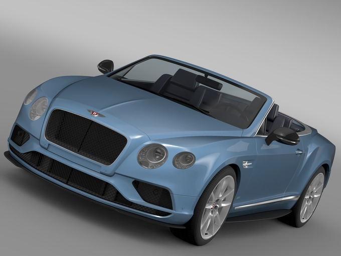 Bentley Continental GTV8S Convertibl