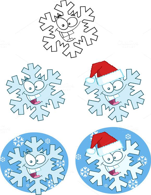 Snowflake Collection Set