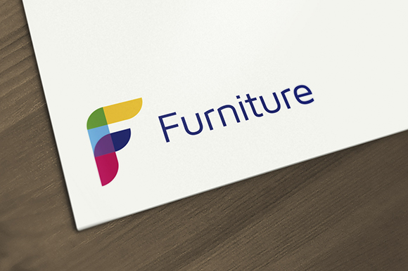 Furniture letter f logo logo templates on creative market for Furniture 5 letters