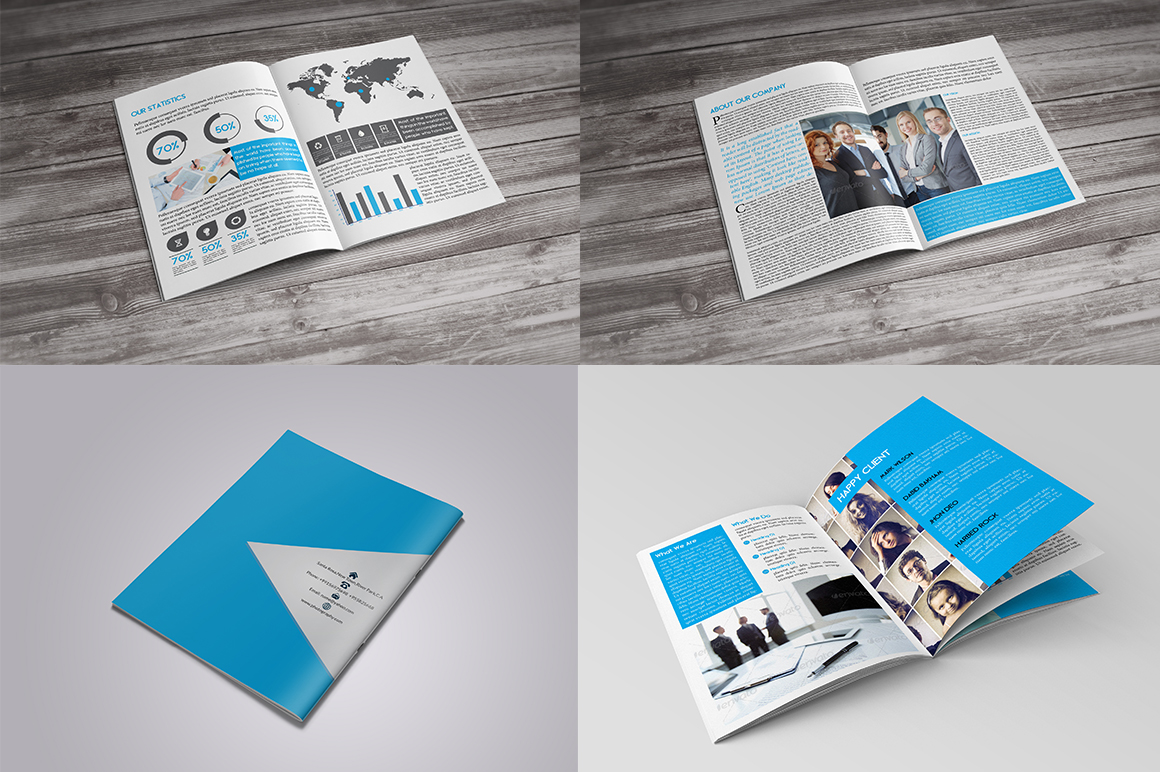 Business brochure 12 page teamplate brochure templates for 12 page brochure template