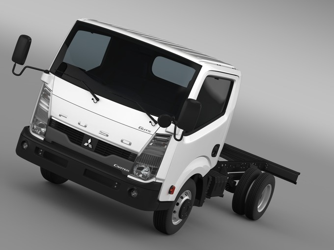 Mitsubishi Fuso Canter Guts Chassi