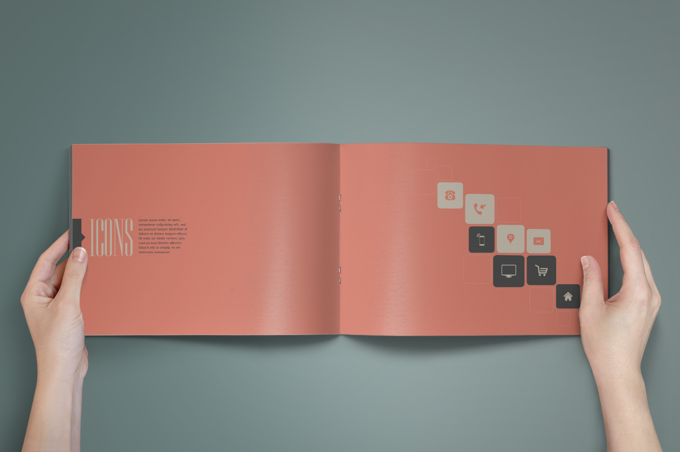the royal brand guidelines template brochure templates on creative market. Black Bedroom Furniture Sets. Home Design Ideas