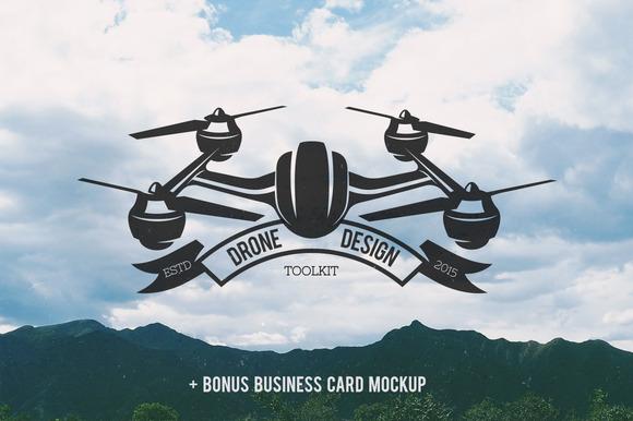Drone Design Toolkit Bonus Mockup