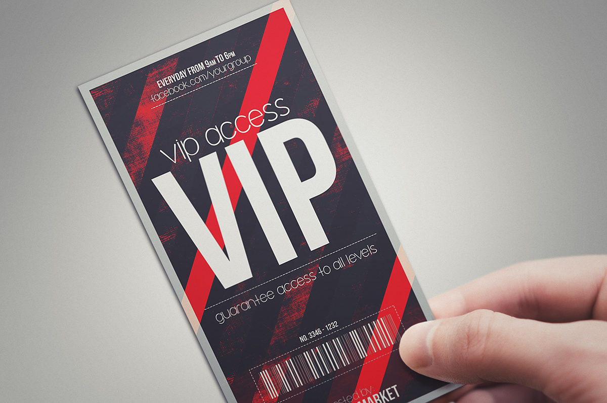 Vip Pass DEVIL RED - VIP PASS ~...
