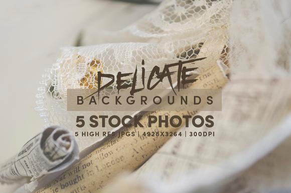 5 Delicate Background Stock Photos