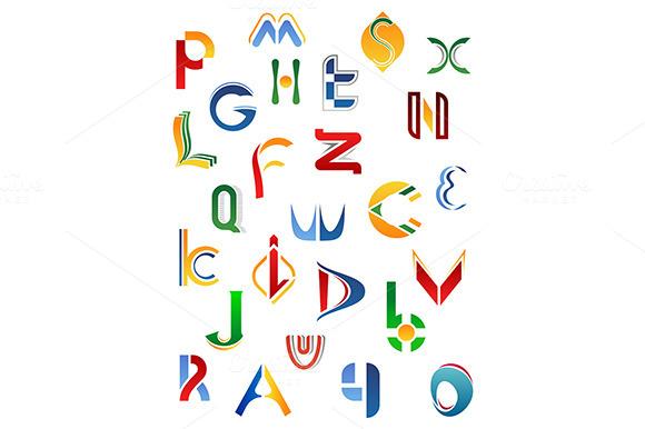 Alphabet Symbols From A To Z