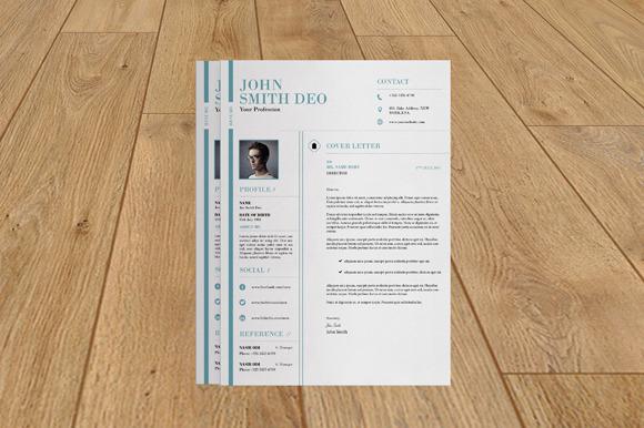 Resume With Cover Letter-V11