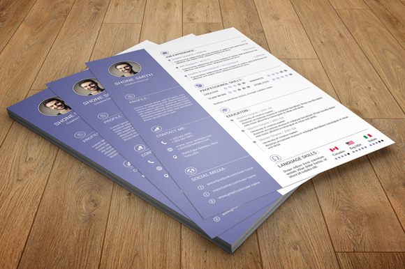 Resume With Cover Letter-V12