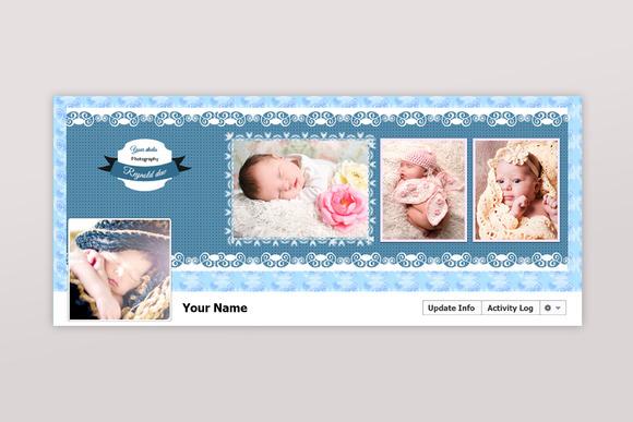 New born facebook timeline cover