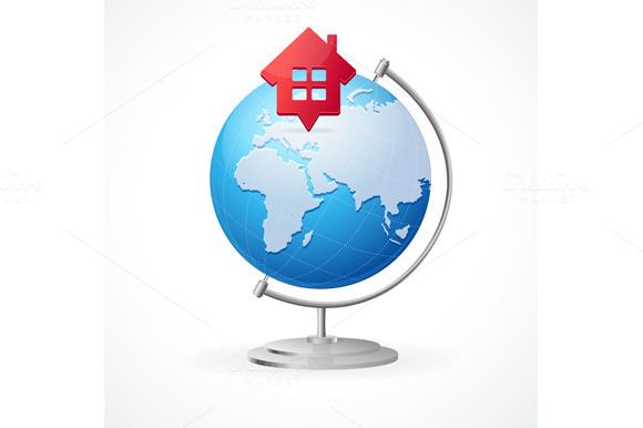 Concept Globe. Vector - Illustrations