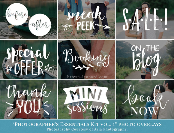 Essentials Kit Vol.1- Photo Overlays