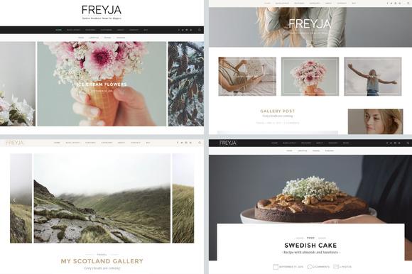FREYJA-wordpress theme for bloggers - Blog
