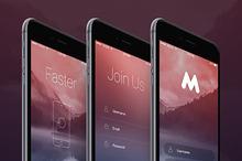 Megap - iOS 9 App Template