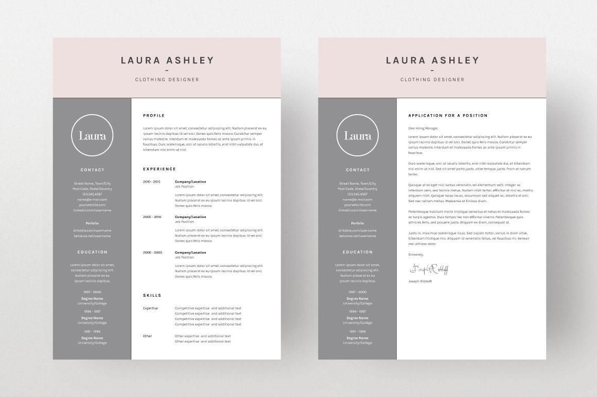 laura ashley  cv template