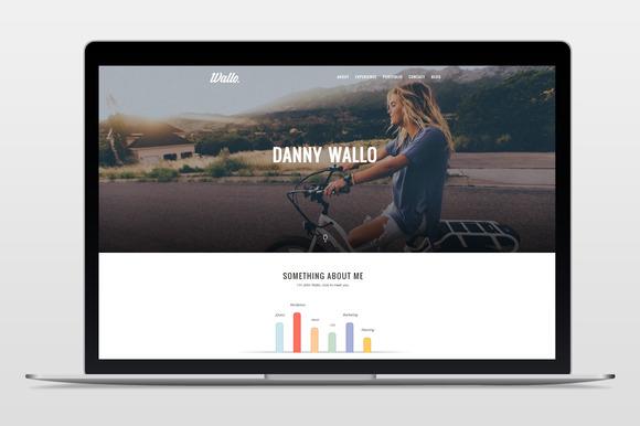 Wallo - Onepage WordPress Theme - Portfolio