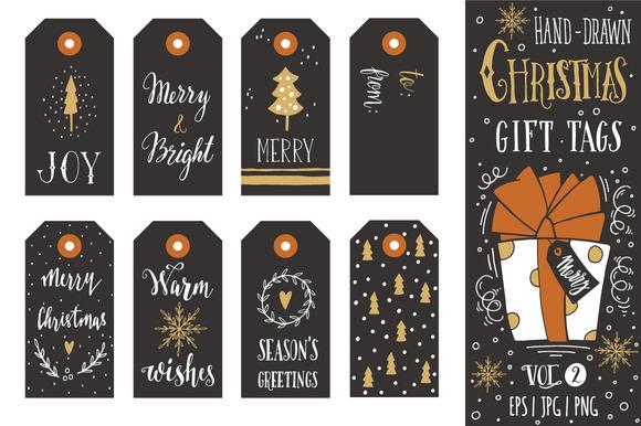 Christmas gift tags   vol.2 - Illustrations