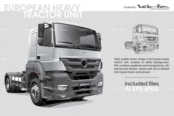 European Heavy Tractor Unit