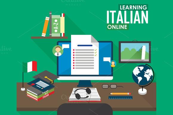 E-learning Italian Language