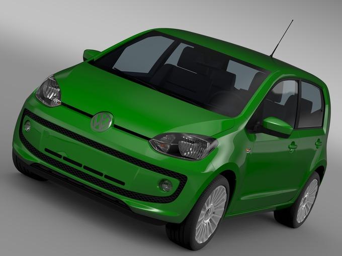 VW Eco UP 5 door 2013