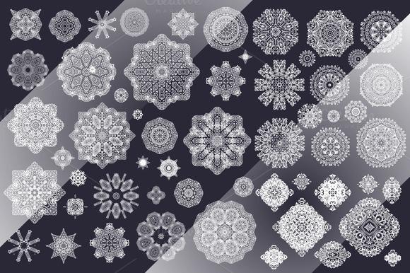 85 Decorative Rosettes